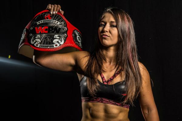 Beating Bea Priestley made Newell the inaugural WCPW Women's Champ.