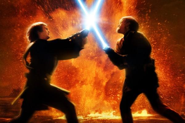 Anakin V Obi Wan