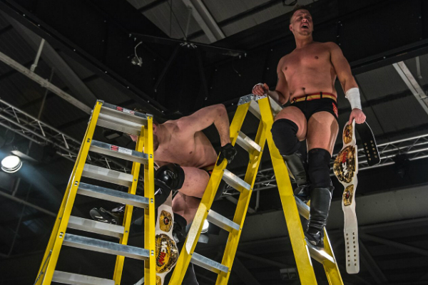 The Swords Of Essex won WCPW Tag-Team gold during a hard hitting ladder match at True Destiny.