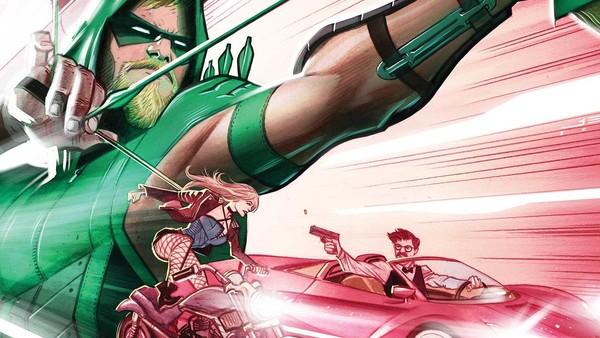 Green Arrow #11 Juan Ferreyra