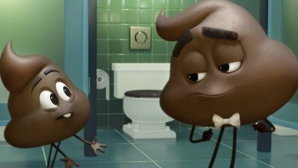 The Emoji Movie Poop