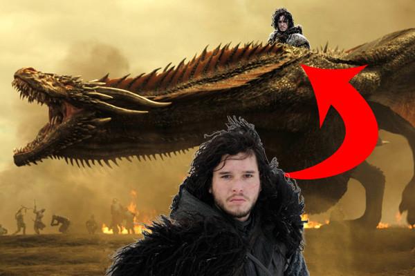Jon Snow Dragon