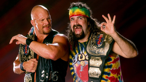 Steve Austin And Dude Love