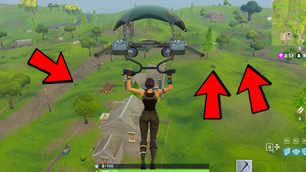 12 certain types of bushes can completely conceal you - fortnite hitboxes