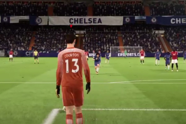 FIFA 18 Courtois