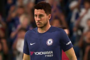 FIFA 18 Eden Hazard