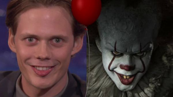 bill skarsgård clown smile