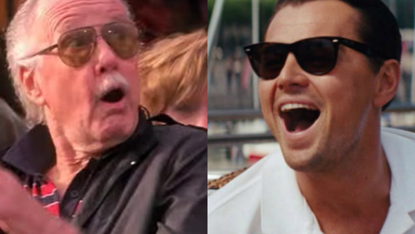Stan Lee Leonardo DiCaprio