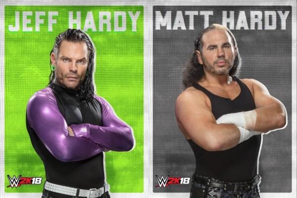 Matt Hardy Jeff Hardy WWE 2K18