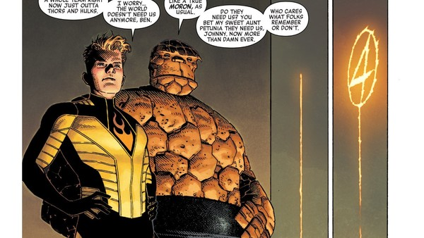 Marvel Legacy Human Torch Thing