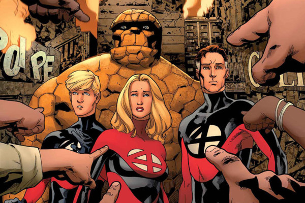 Fantastic Four Marvel Comics