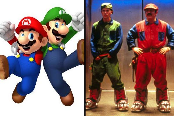 Mario And Luigi Bob Hoskins John Leguizamo
