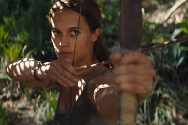 'Tomb Raider' trailer shows the super stunts of Alicia Vikander