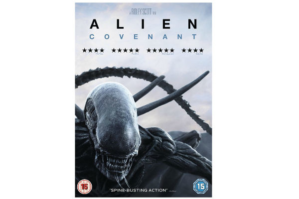 Alien Covenant DVD