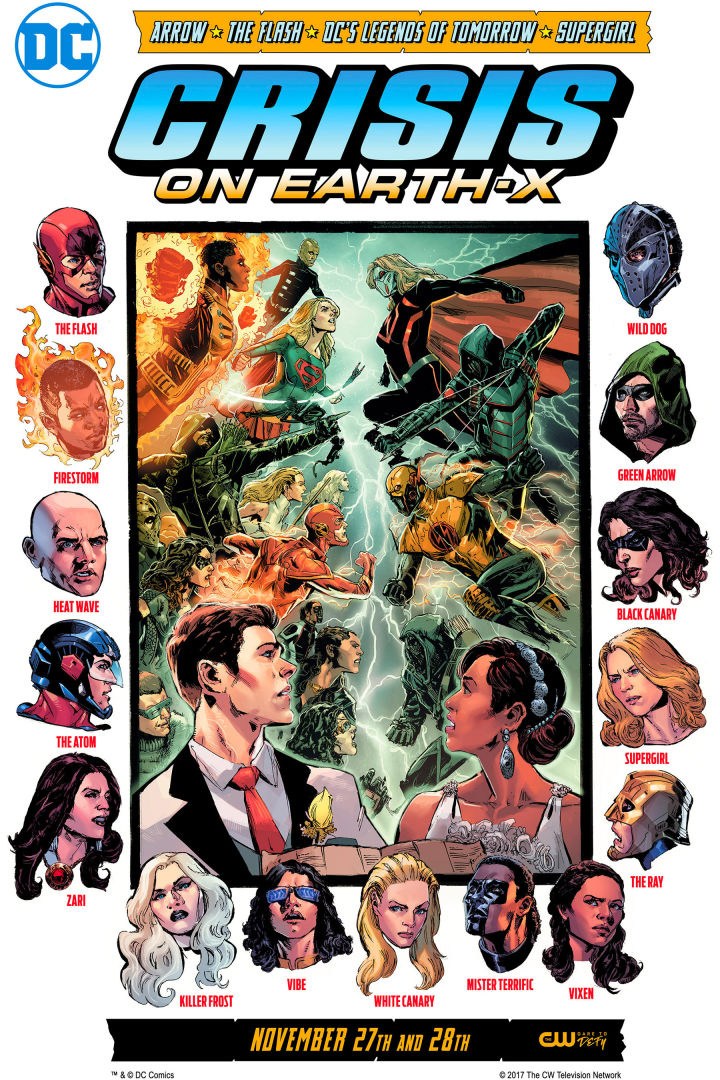 Arrowverse Crisis On Earth X