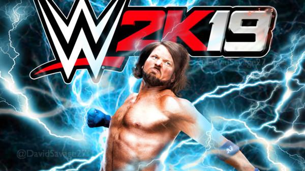 WWE 2K19 AJ Styles
