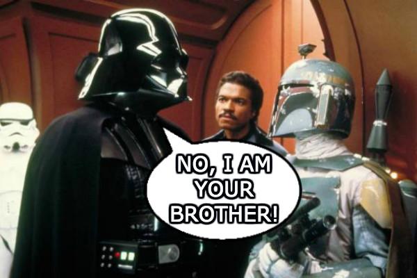 Darth Vader Boba Fett Brothers