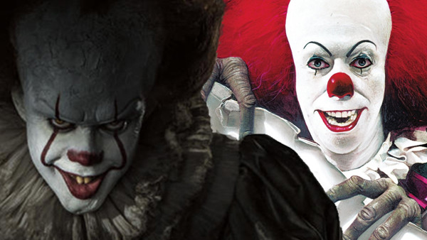 It Pennywise 1990 2017