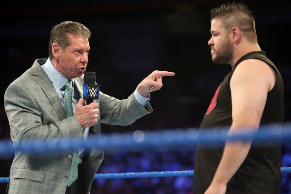 WWE's Vince McMahon viciously attacked by Kevin Owens