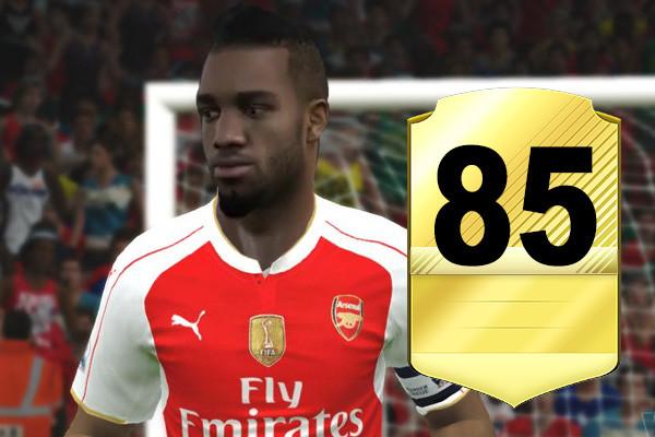 Lacazette FIFA Rating