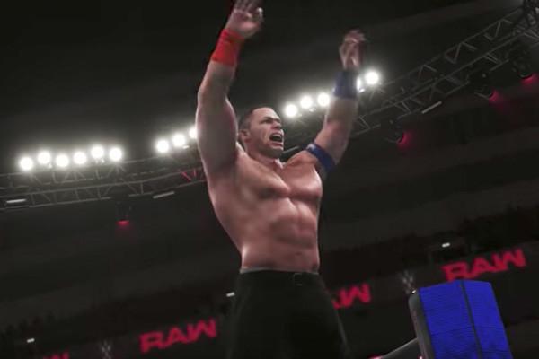 John Cena WWE 2K18