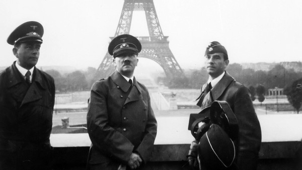 adolf hitler paris