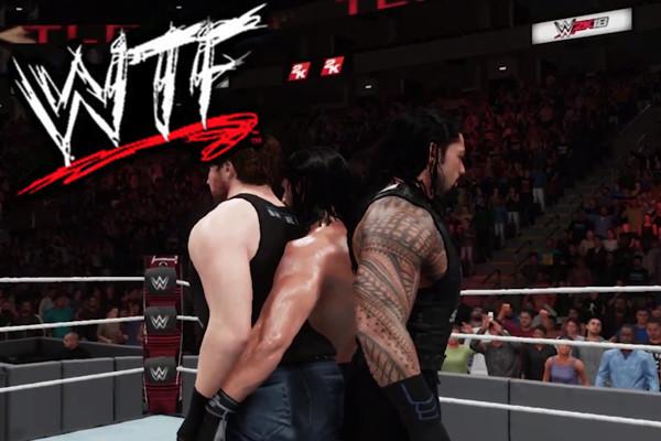 WWE 2K18 Shield WTF