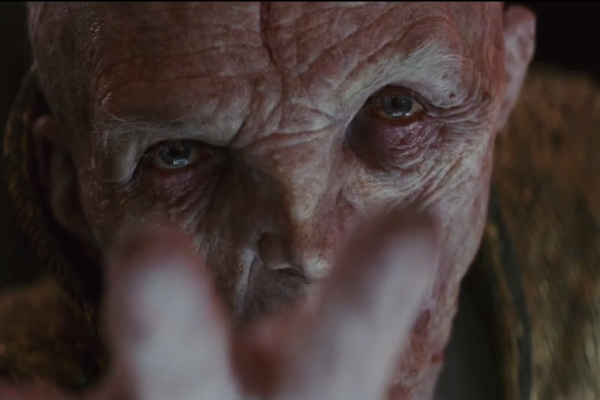 Star Wars The Last Jedi Trailer Snoke