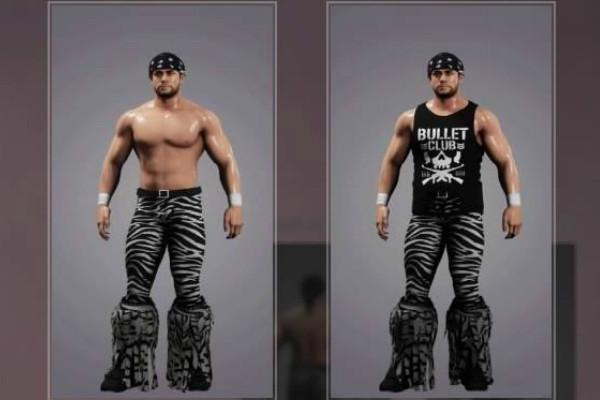 WWE 2K18 Nick Jackson