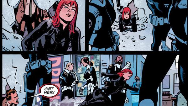 Black Widow Helicarrier