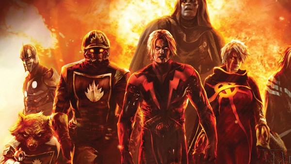 Guardians of the Galaxy Adam Warlock Nova Annihilation