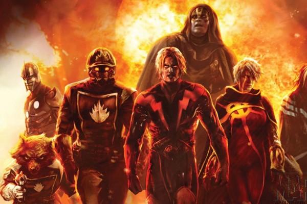 Guardians of the Galaxy Adam Warlock Nova Annihilation