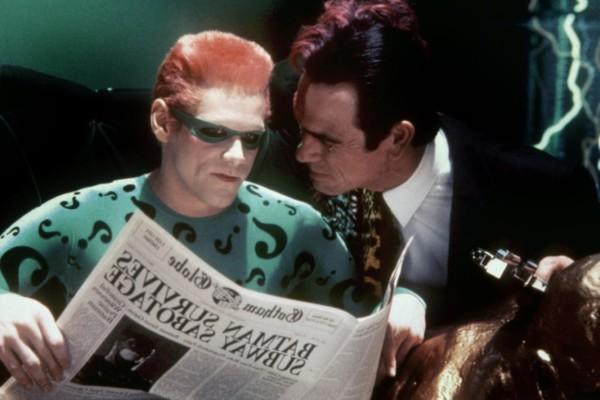 Jim Carrey Tommy Lee Jones Batman Forever