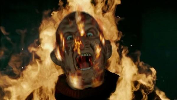 Freddy Krueger On Fire