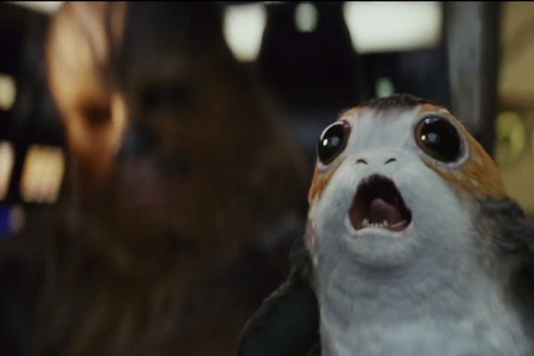 Star Wars The Last Jedi Trailer Chewbacca Porg