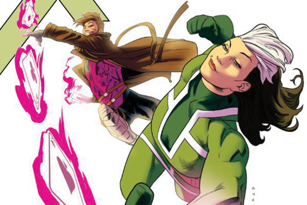 Rogue Gambit X-Men Comic