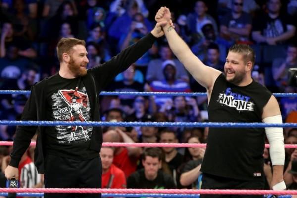 SmackDown Kevin Owens Sami Zayn