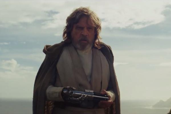 Star Wars The Last Jedi Trailer Luke Skywalker