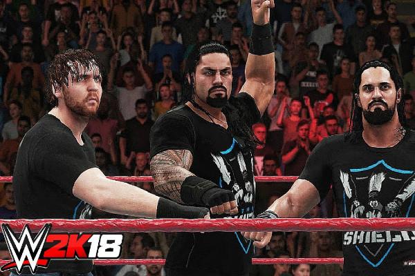 WWE 2K18 The Shield