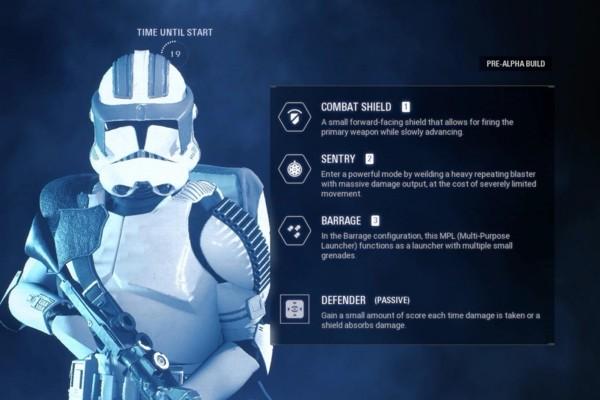 Star Wars Battlefront 2 Classes