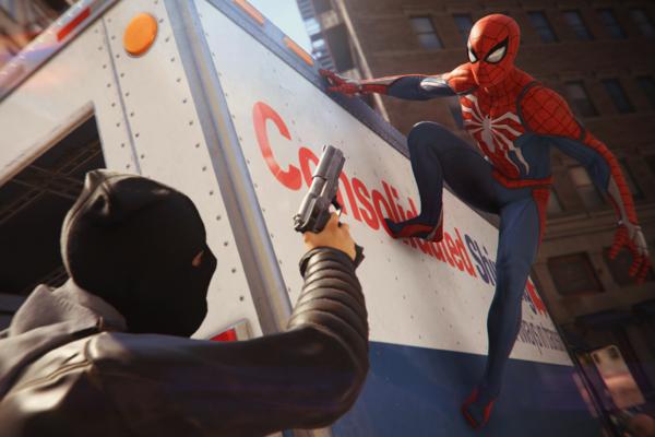Spider-Man PS4 Truck