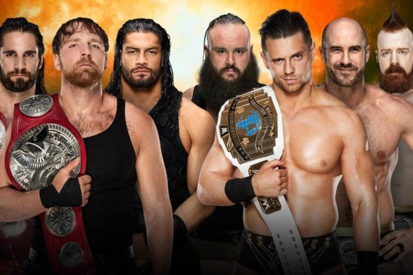 TLC The Shield The Miz The Bar Braun Strowman