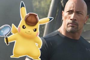 Detective Pikachu The Rock