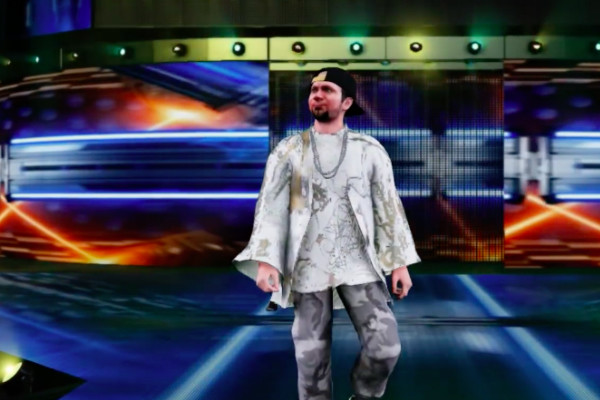 WWE 2K18 James Ellsworth