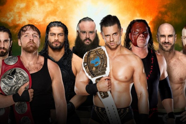 The Shield Vs Everyone TLC 17