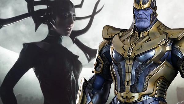 Thanos Hela Thor Ragnarok