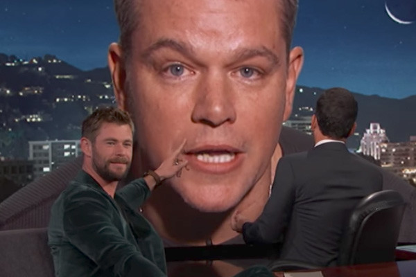 Matt Damon Thor Jimmy Kimmel