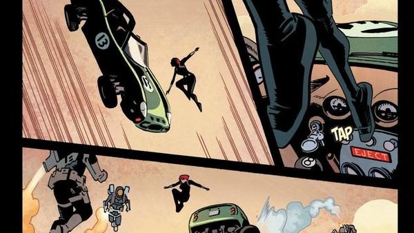 Black Widow Waid Samnee