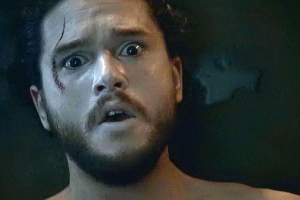 Jon Snow Shocked