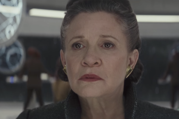 Star Wars The Last Jedi Trailer General Leia